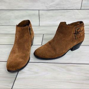 Sam Edelman suede buckle Ankle booties